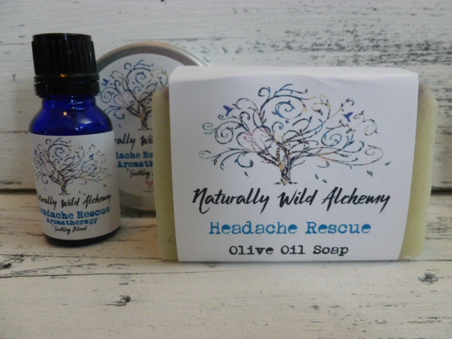 Headache Rescue Aromatherapy Set 3 pc