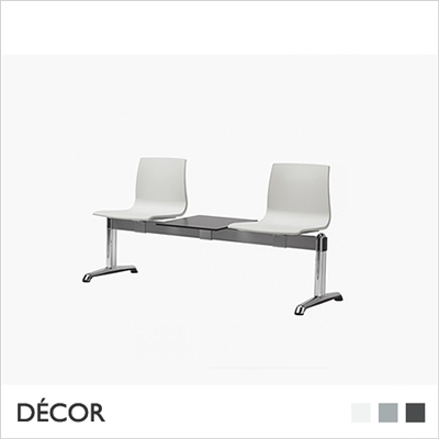 ALICE BENCH, 2 SEATS WITH TABLE