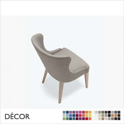 AGATHA CHAIR, LARGE,, ECO LEATHER, ECO SUEDE OR FABRIC