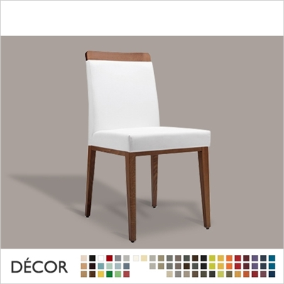 AIDA CHAIR, ECO LEATHER & DESIGNER FABRICS