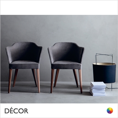 TRUEMAN CHAIR, ECO LEATHER & DESIGNER FABRICS