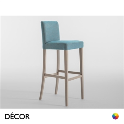 LADY BARSTOOL, ECO LEATHER & DESIGNER FABRICS