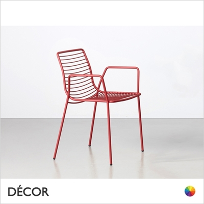 SUMMER CHAIR WITH ARMRESTS, OUTDOOR
