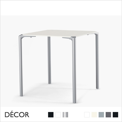 JUMP SQUARE TABLE WITH COMPACT LAMINATE TOP