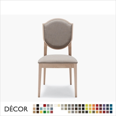 BLASON CHAIR, ECO LEATHER, ECO SUEDE OR FABRIC