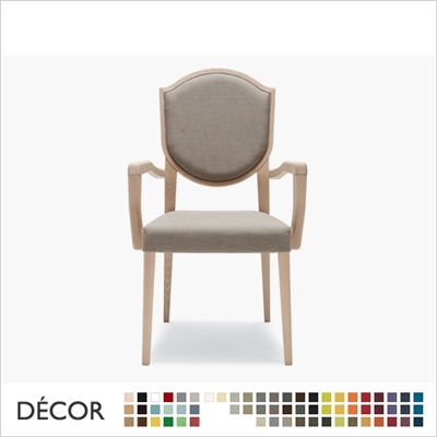BLASON SOFT CHAIR WITH ARMRESTS
