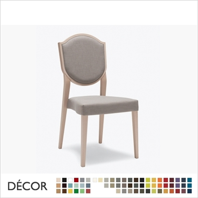 BLASON SOFT CHAIR, STACKABLE