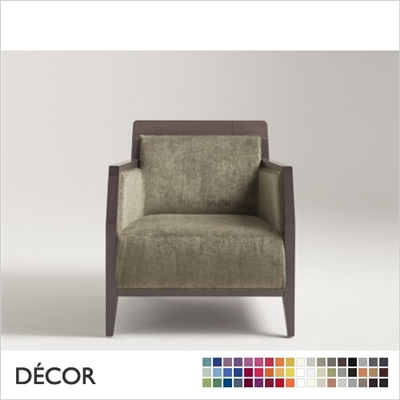 BOHEME ARMCHAIR, ECO LEATHER, ECO SUEDE OR FABRIC