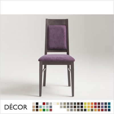 CAPUA CHAIR, ECO LEATHER & DESIGNER FABRICS