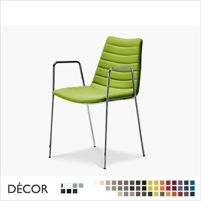 COVER CHAIR WITH ARMRESTS, REAL LEATHER, ECO LEATHER & DESIGNER FABRICS