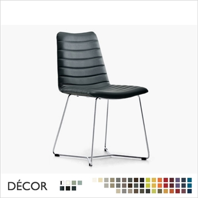 COVER CHAIR, SLEDGE FRAME, REAL LEATHER, ECO LEATHER & DESIGNER FABRICS