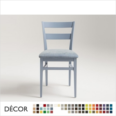 CREMONA CHAIR, ECO LEATHER, ECO SUEDE OR FABRIC