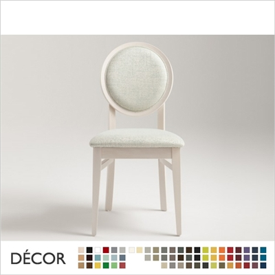 DAFNE CHAIR,  ECO LEATHER & DESIGNER FABRICS