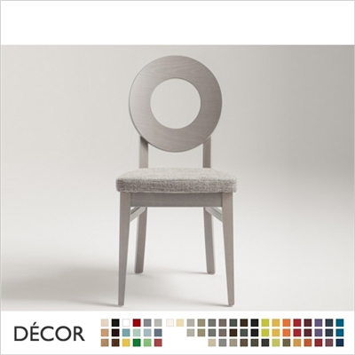 DEA CHAIR, ECO LEATHER, ECO SUEDE OR FABRIC