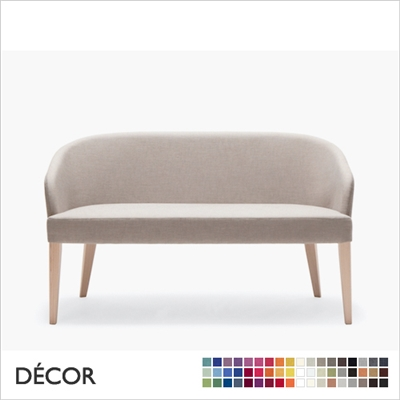 DORIS DINING SOFA, ECO LEATHER, ECO SUEDE OR FABRIC