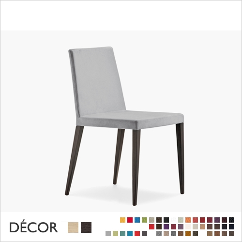 DRESS CHAIR, LOW BACK, ECO LEATHER, FABRIC, WOOL<br>MINIMUM ORDER QUANTITY: 2