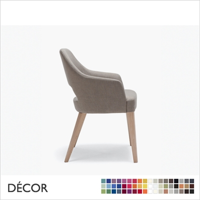 EMILY CHAIR, LARGE, ECO LEATHER, ECO SUEDE OR FABRIC
