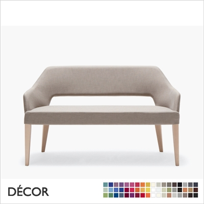 EMILY DINING SOFA, ECO LEATHER, ECO SUEDE OR FABRIC