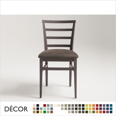 FORLI CHAIR, ECO LEATHER & DESIGNER FABRICS
