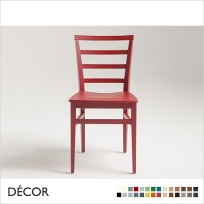 FORLI CHAIR, WOODEN SEAT