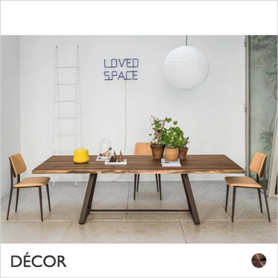 ALFRED DINING TABLE, RECTANGULAR