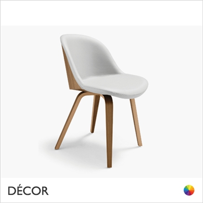 DANNY CHAIR, WOOD, REAL LEATHER, ECO LEATHER & DESIGNER FABRICS