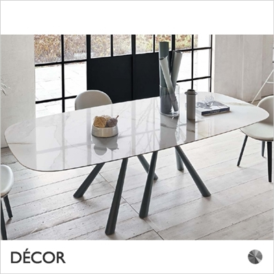 FOREST DINING TABLE, ROUNDED RECTANGULAR