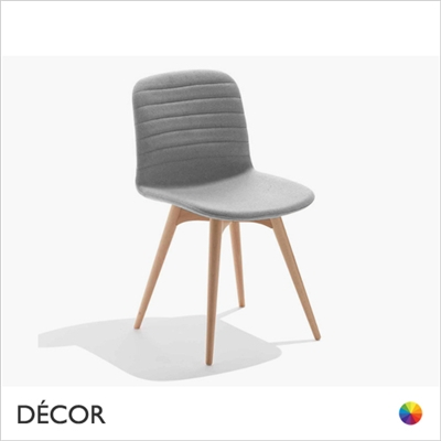 LIU CHAIR WOOD, ECO LEATHER