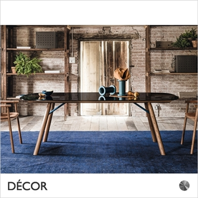 SUITE DINING TABLE, ROUNDED RECTANGULAR