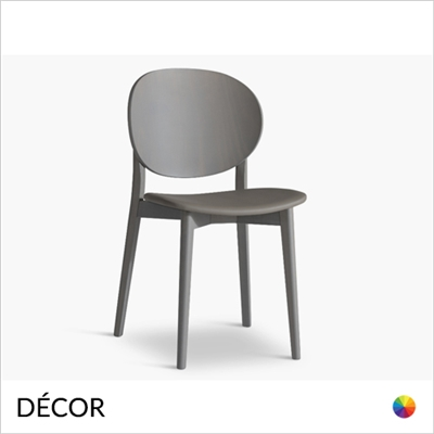 COCO DINING CHAIR, ECO LEATHER & DESIGNER FABRICS