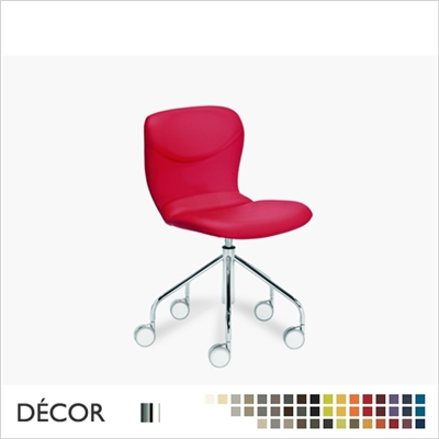 ITALIA DESK CHAIR, ECO LEATHER