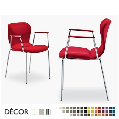 ITALIA CHAIR WITH ARMRESTS