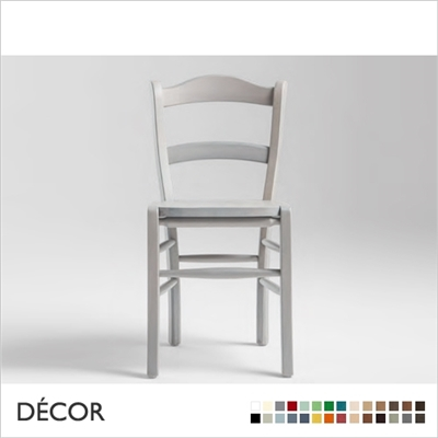 MAROCCA CHAIR, WOODEN SEAT