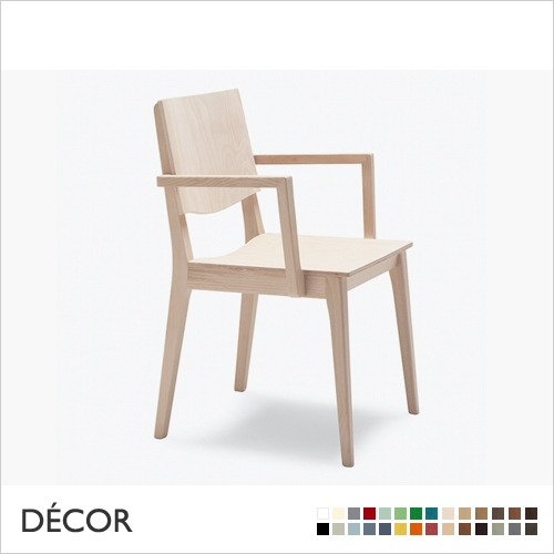 MAXIM CHAIR WITH ARMRESTS, BENTWOOD