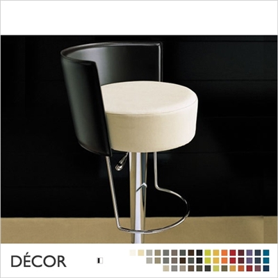 BONGO BARSTOOL, ECO LEATHER BACKREST