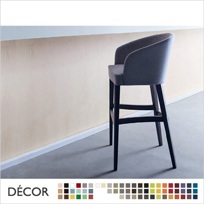 DORIS BARSTOOL, ECO LEATHER & DESIGNER FABRICS