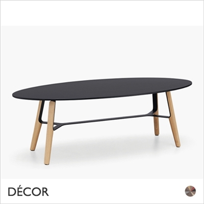 LIU COFFEE TABLE, OVAL, 40 & 50