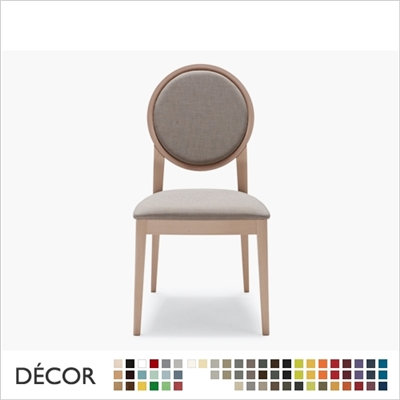 MEDAILLON CHAIR, ECO LEATHER & DESIGNER FABRICS