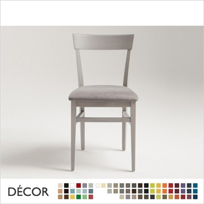 MILANO CHAIR, ECO LEATHER & DESIGNER FABRICS