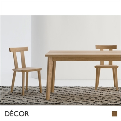 MILANO CHAIR, SOLID OAK