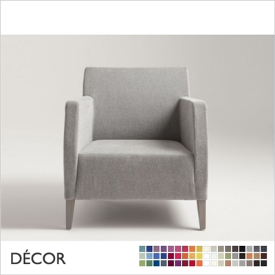 MISS ARMCHAIR, ECO LEATHER, ECO SUEDE OR FABRIC