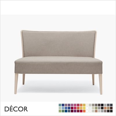 NOB DINING SOFA, ECO LEATHER, ECO SUEDE OR FABRIC