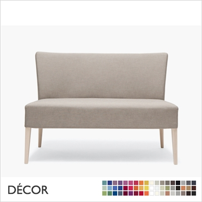 NOBLESSE DINING SOFA, ECO LEATHER, ECO SUEDE OR FABRIC