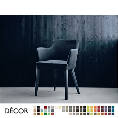 OSCAR CHAIR, ECO LEATHER & DESIGNER FABRICS
