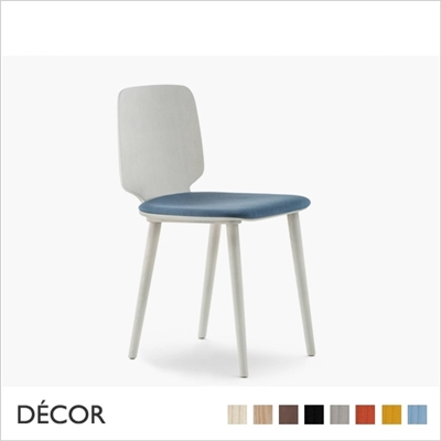 BABILA SOFT CHAIR WITH A SOFT SEAT, WOOD