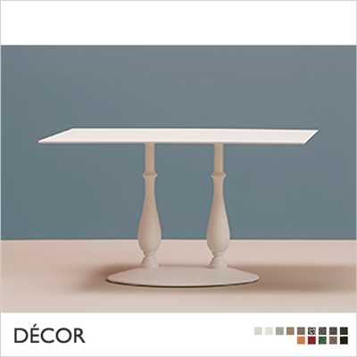 LIBERTY TABLE BASE, TWIN COLUMN CENTRAL PEDESTAL