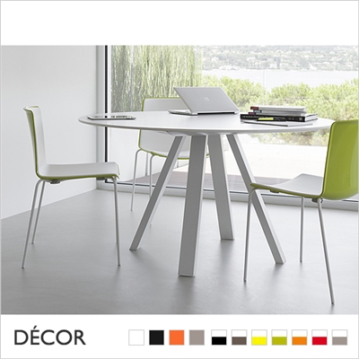 TWEET CHAIR, BICOLOUR & MONOCOLOUR, 4 LEGS