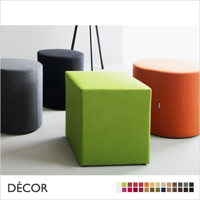 WOW POUF, RECTANGULAR, FABRIC, ECO LEATHER