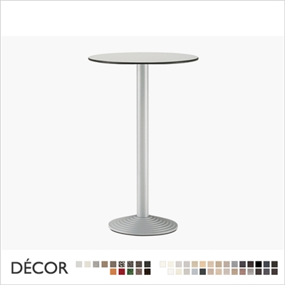 STEP BAR HEIGHT TABLE BASE, ROUND