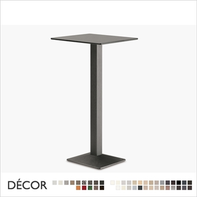 QUADRA BAR HEIGHT TABLE BASE SQUARE
